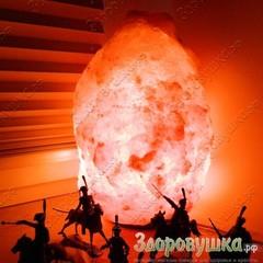 Солевые лампы Скала