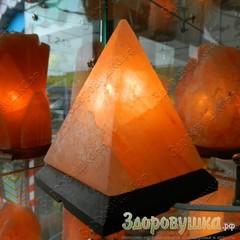 Солевые лампы пирамиды