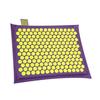 Relaxmat Массажный коврик 40x30 желтый/фиолетовый  описание