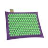 Relaxmat Массажный коврик 40x30 зеленый/фиолетовый описание