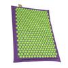 Relaxmat Массажный коврик 60x40 зеленый/фиолетовый описание