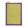 Relaxmat Массажный коврик 60x40 желтый/фиолетовый