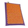 Relaxmat Массажный коврик 60x40 оранжевый/фиолетовый описание