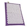 Relaxmat Массажный коврик 60x40 белый/фиолетовый описание
